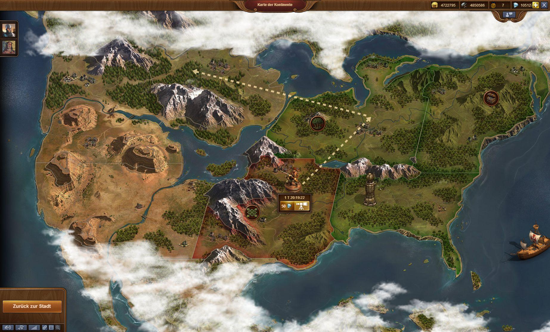 Karte Der Kontinente Foe.Forge Of Empires