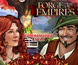 Forge of Empires: Valentinstags-Event